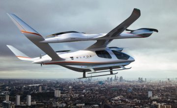 Blade Looking To Launch Quiet 'Electric Vertical Aircrafts' In 2024