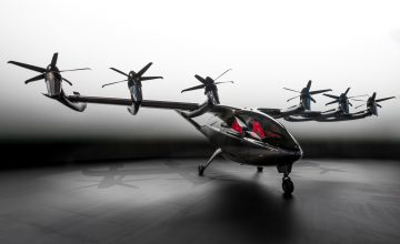 Archer Aviation Reveals Stunning New Electric Air Taxi