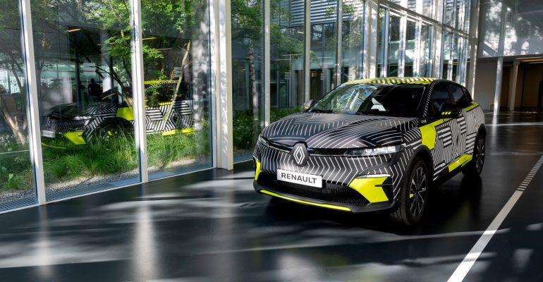 Our First Look At The Renault Megane E-Tech Electric