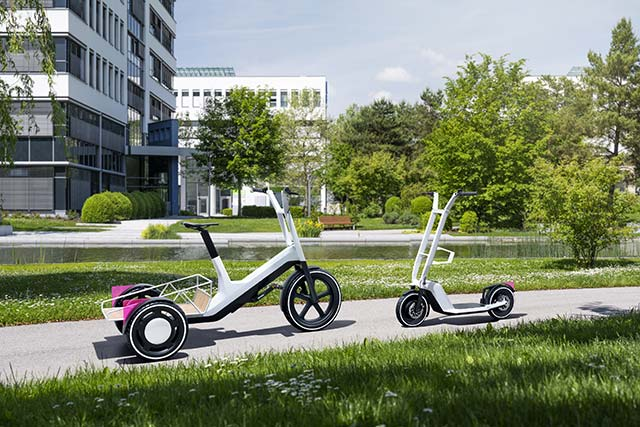Check Out BMW's New Bike And Scooter Concepts