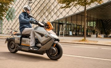BMW Reveals Its CE 04, An Unbelievable New Electric Scooter