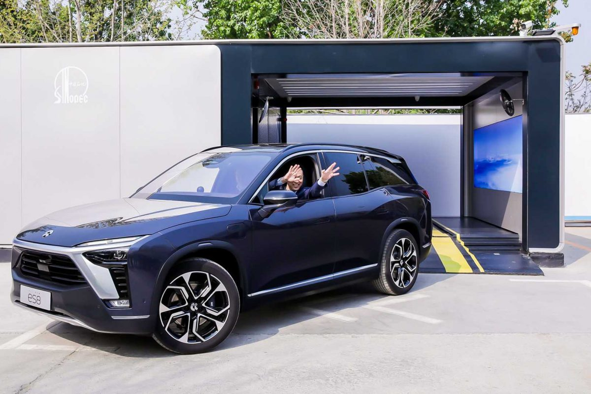 NIO To Expand Battery Swap Service By 2025