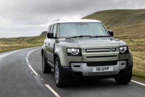 Land Rover Defender Electric 4x4
