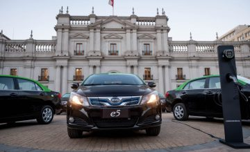 BYD Delivers First 50 Electric Taxis In Chile