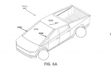 Tesla Cybertruck: New Origami-Like Windshield And Dash Shown In Patent
