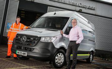 Mercedes-Benz Vans Trials eSprinter Roadside Assistance Vehicle