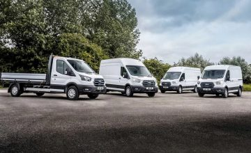 Ford E-Transit Begins Real-World Trials Across Europe