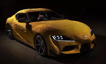 Lego Has Built A Full Size Toyota GR Supra, And Yes, It Drives