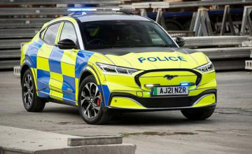 Sustain(able) & Protect: Meet Ford's Mustang Mach-E Police Car Concept