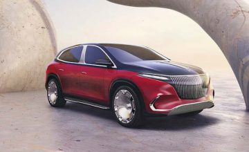 Mercedes-Benz Reveals Ultra-Luxe Maybach Electric SUV Concept
