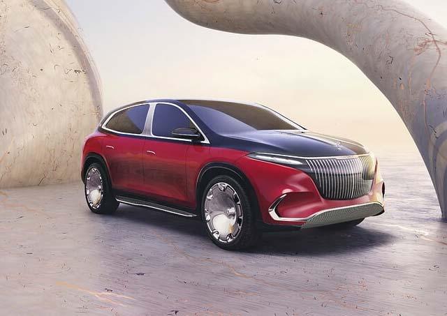Mercedes-Benz Maybach EQS Concept