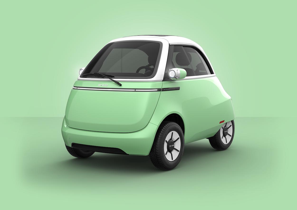 Microlino 2.0 In Green
