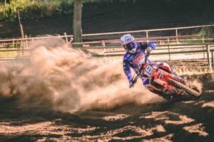 Electric Dirt Bike Racing