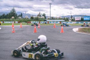 Kids Electric Go Kart Race