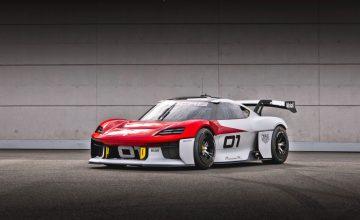 The Mission R Concept: Porsche's First Race Car EV