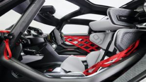 Porsche Mission R Interior
